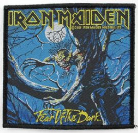 Iron Maiden - 'Fear of the Dark' Woven Patch